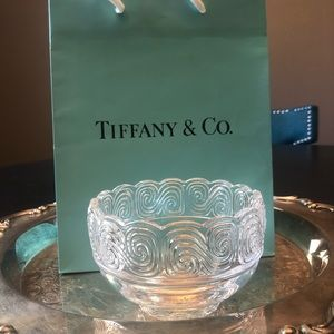 Tiffany & Co. Wave Crystal Louis Comfort Bowl